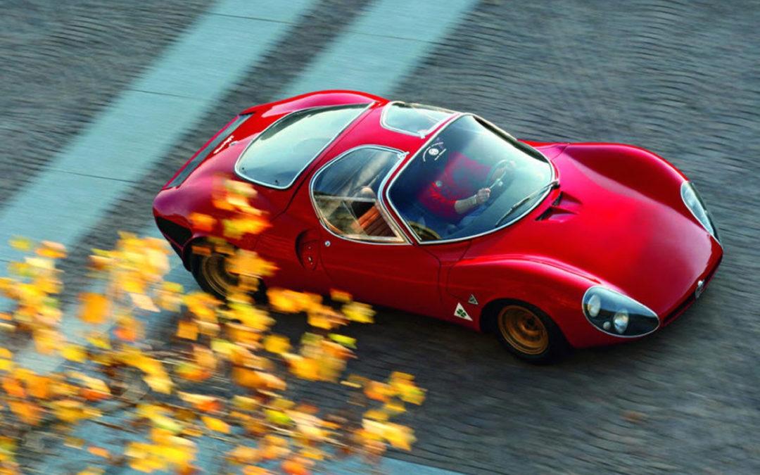 Alfa Romeo T33 Stradale… Oeuvre d'art sur roues !