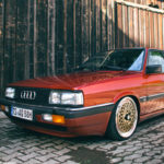 Audi 90 Quattro - Low & slow en BBS