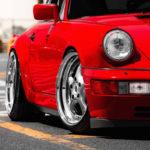 Porsche 964 Carrera 4 : Simply Red...!