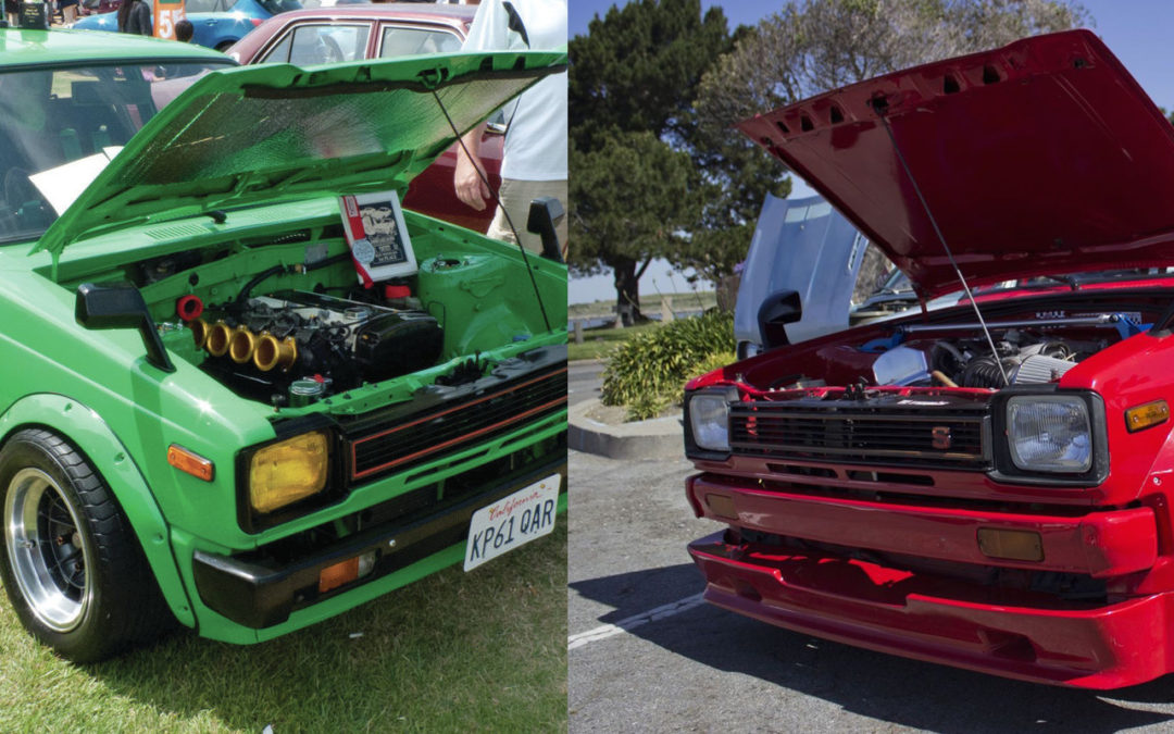 '81 Toyota Starlet KP61 : F22 ou 4AGE ?