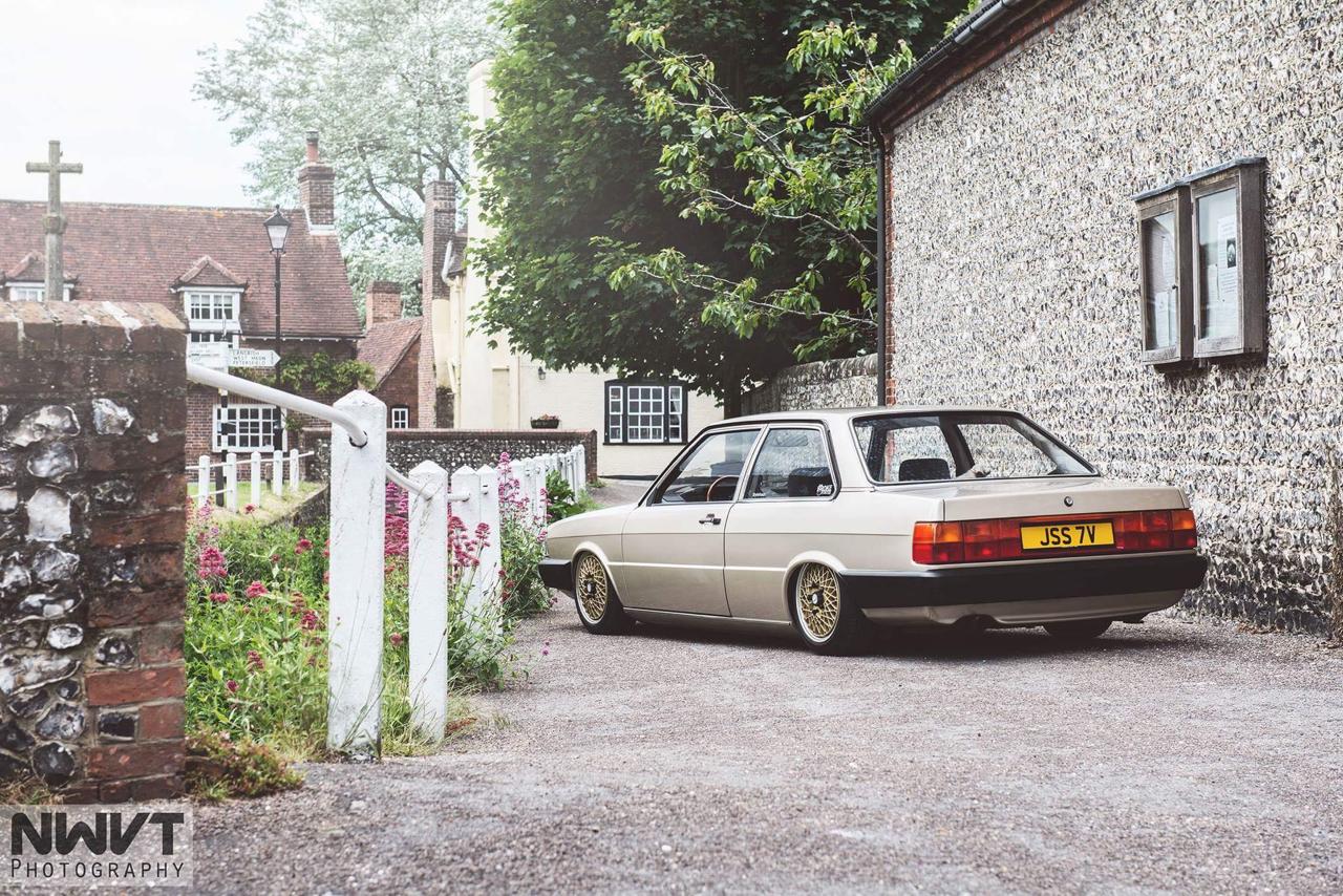 Audi 80 B2... coupé, V6, airride et BBS ! 16