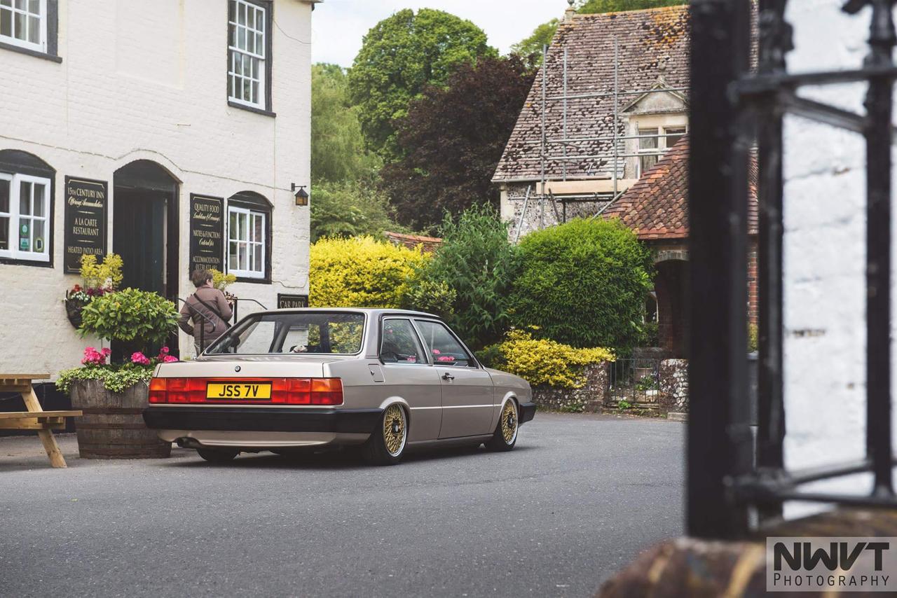 Audi 80 B2... coupé, V6, airride et BBS ! 4