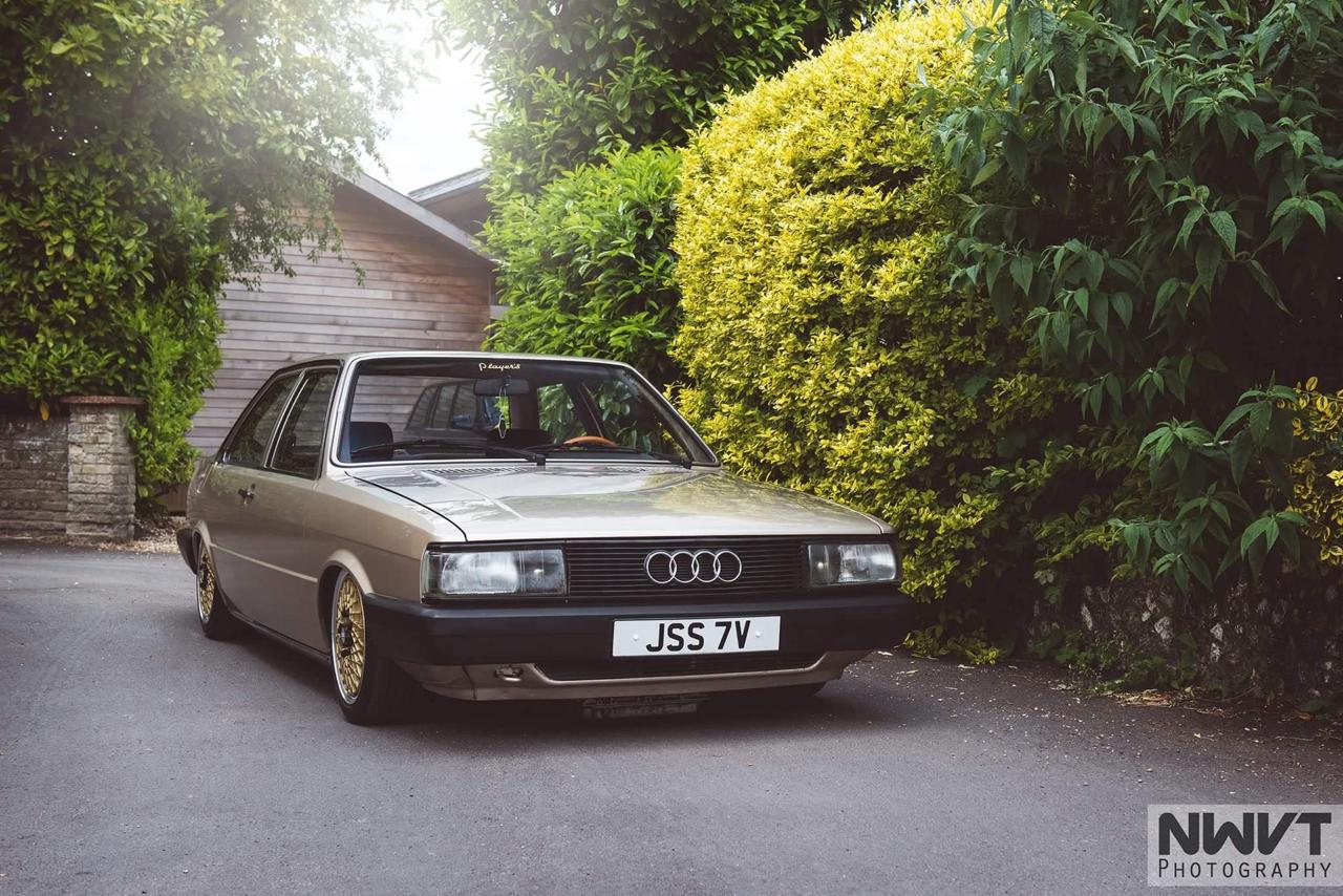 Audi 80 B2... coupé, V6, airride et BBS ! 2