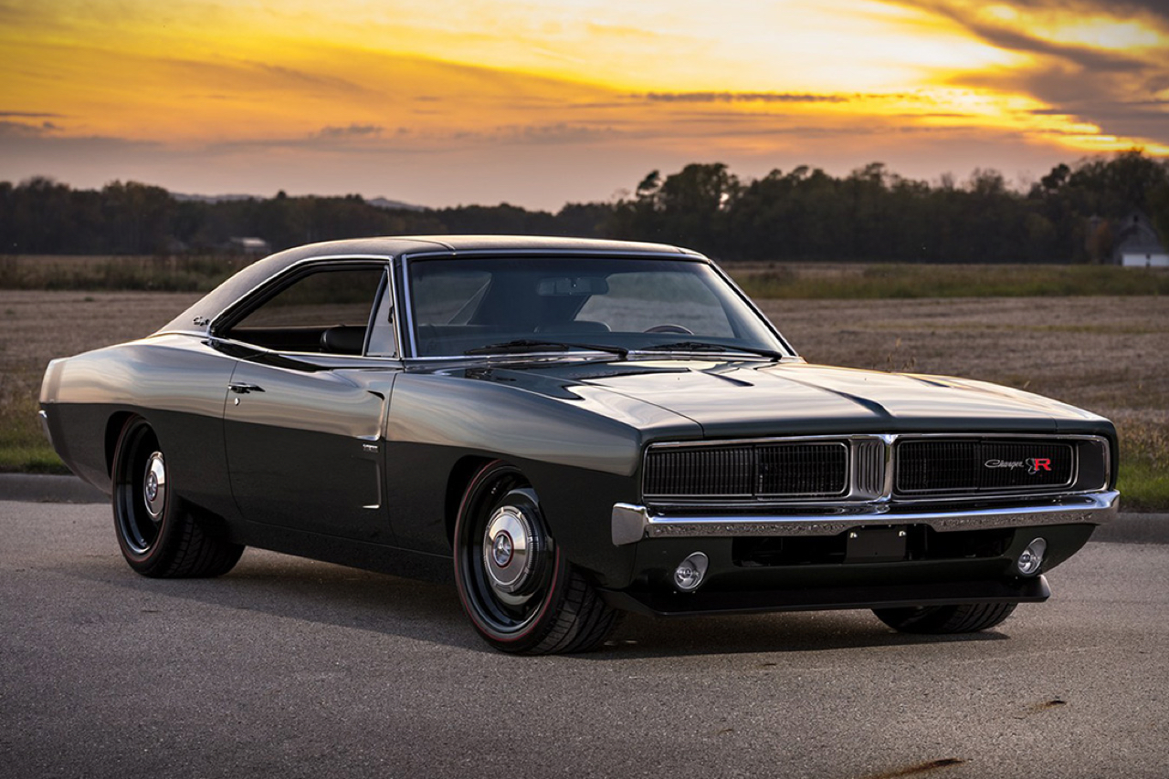 "'69 Dodge Charger ""Defector"" : Signée Ringbrothers... 1"