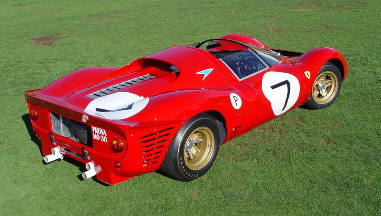 Ferrari 330 P4 - Un top model dans la course ! 4