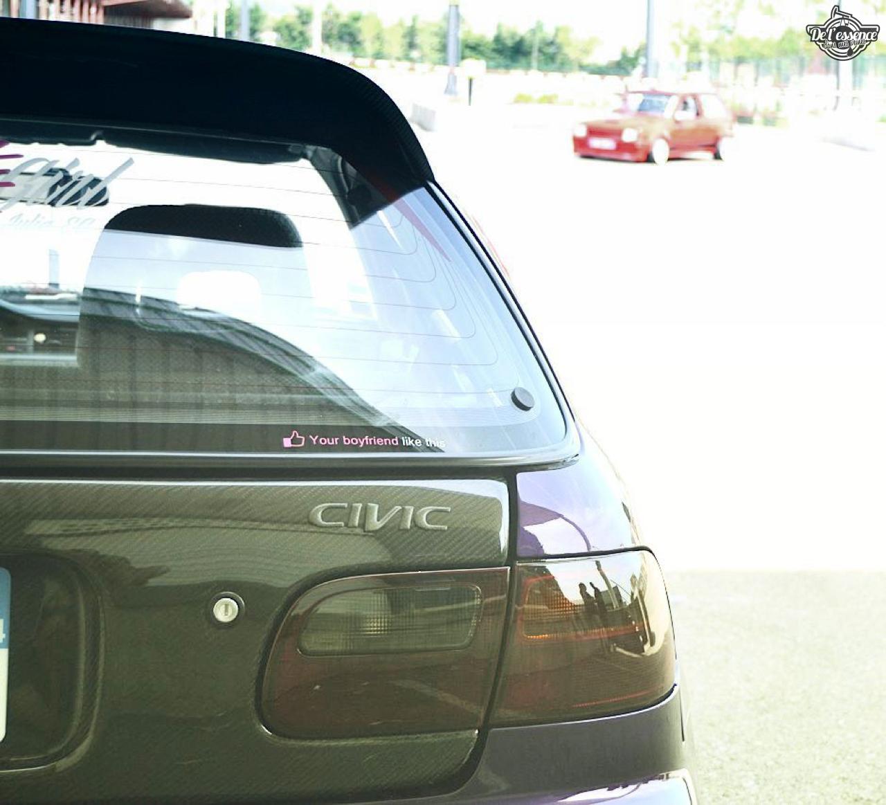 Julie's Honda Civic : Skittles 3