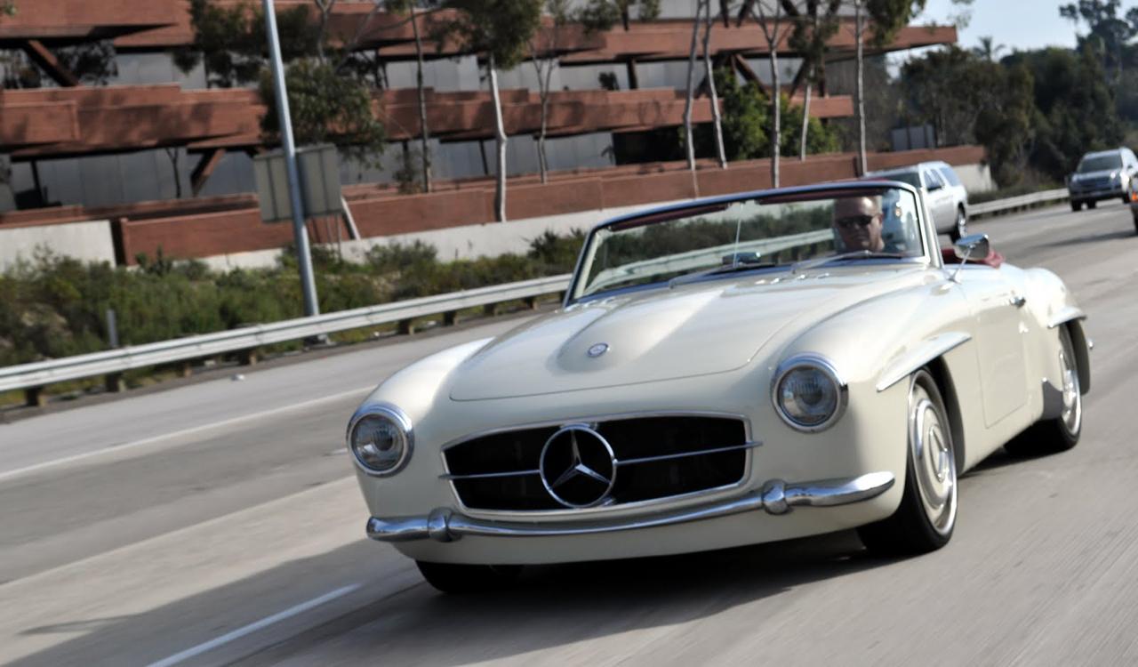 """'61 Mercedes 190 SL... La """"Mercedes Bent"""" un peu spéciale ! 4"""