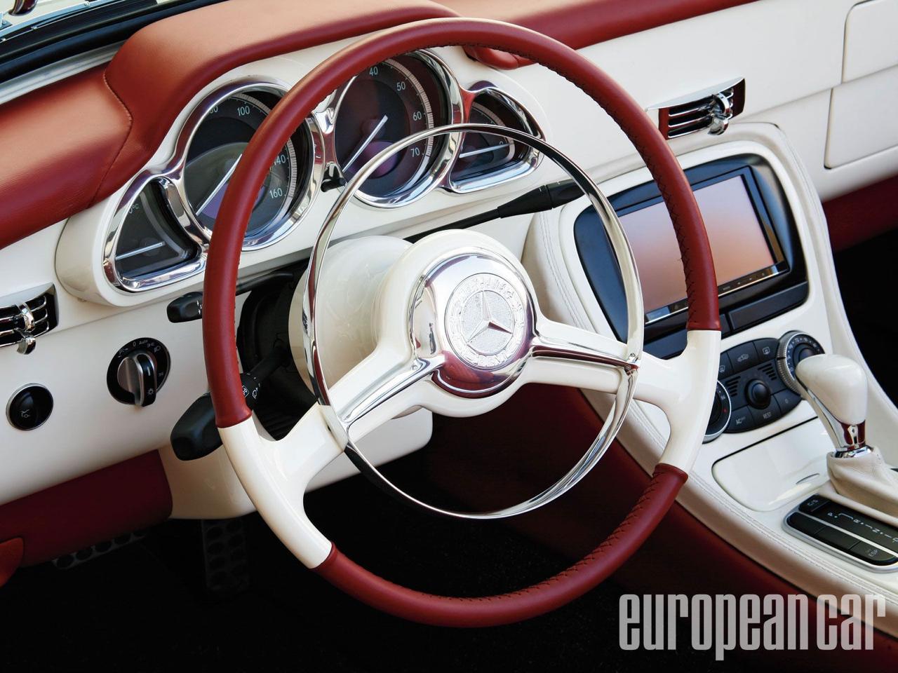 """'61 Mercedes 190 SL... La """"Mercedes Bent"""" un peu spéciale ! 8"""