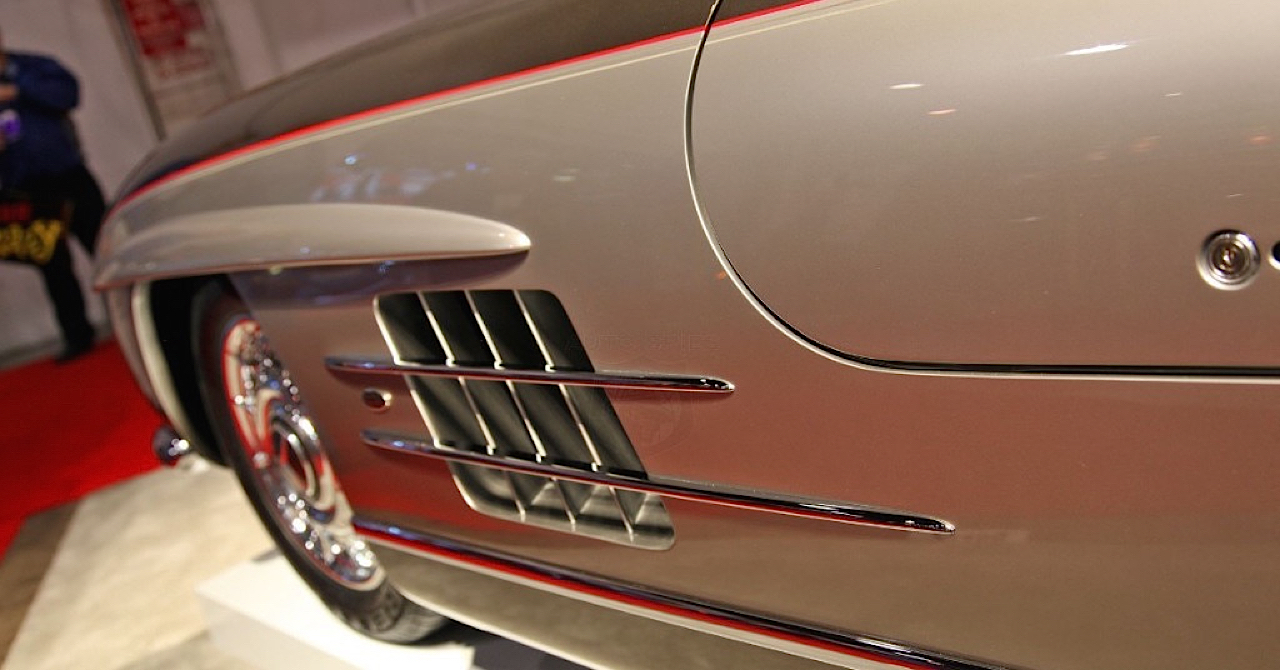 Quand Chip Foose s'occupe d'une Mercedes 300 SL ! 2