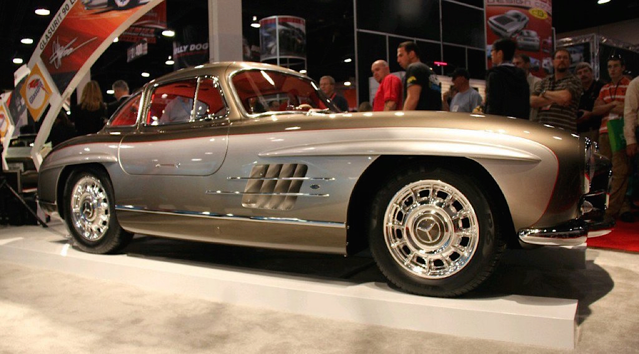 Quand Chip Foose s'occupe d'une Mercedes 300 SL ! 3