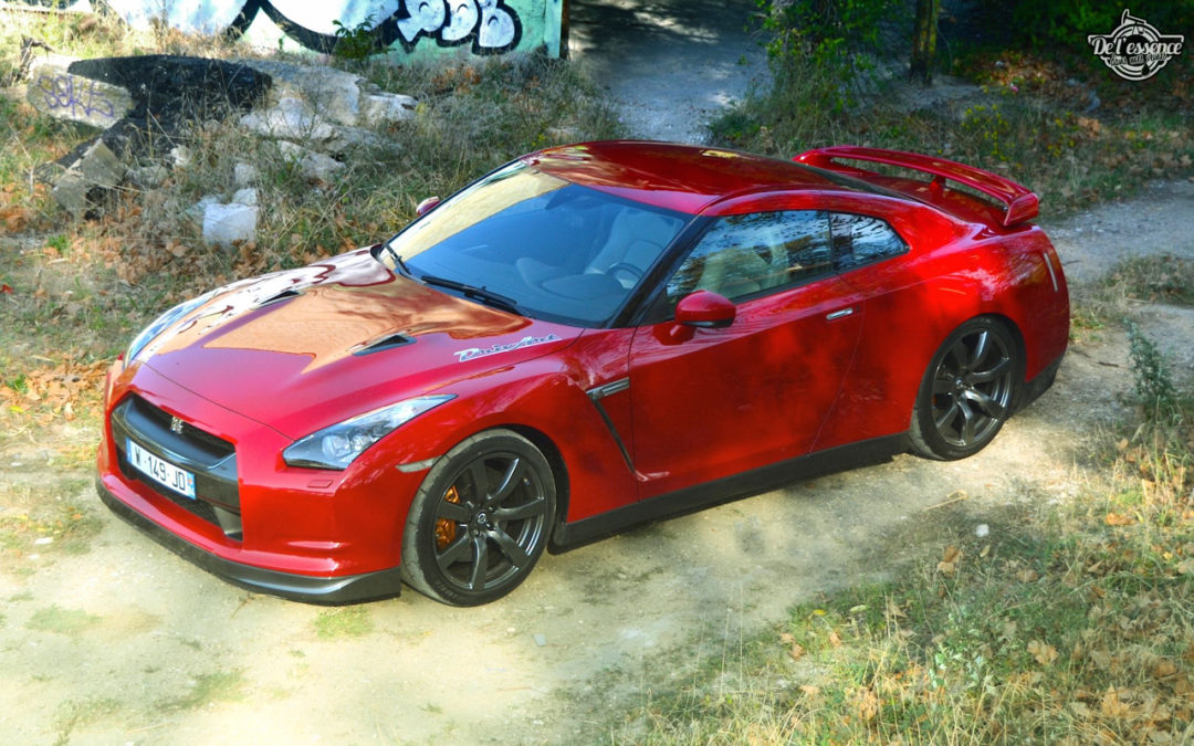 Nissan GTR R35 : Godzilla voit rouge !