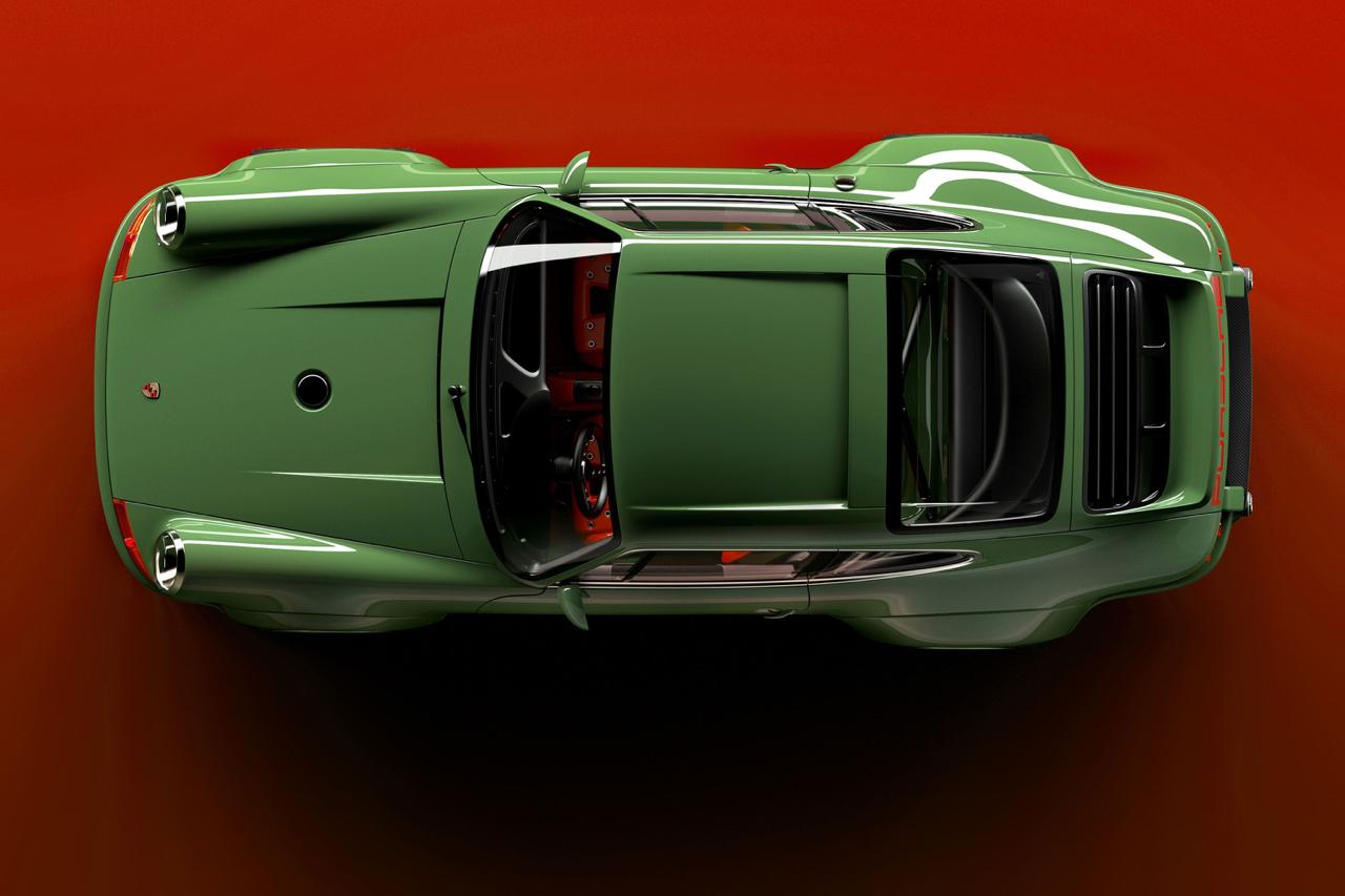 Singer dehors, Williams dedans ! La Porsche 911 en mode tuerie ! 4