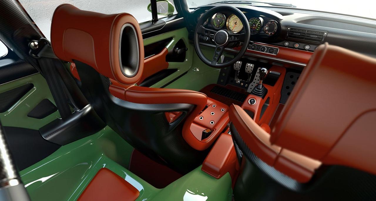 Singer dehors, Williams dedans ! La Porsche 911 en mode tuerie ! 15