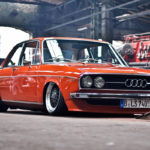 Slammed Audi 100 C1 Coupé – Survivor !