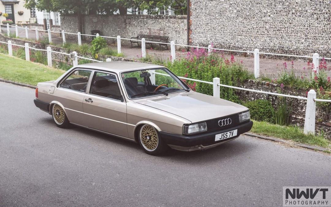 Audi 80 B2… coupé, V6, airride et BBS !