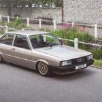 Audi 80 B2... coupé, V6, airride et BBS !