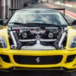 Du drift.... En Ferrari 599 GTB TwinRotrex pour 920 ch !