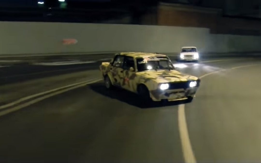 Lada Night Drifting – C'est normal en Russie !
