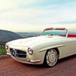 """'61 Mercedes 190 SL… La """"Mercedes Bent"""" un peu spéciale !"""