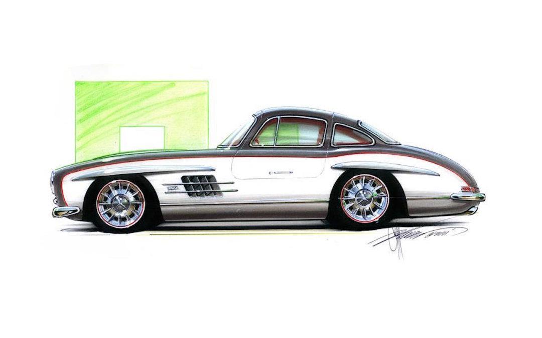 Quand Chip Foose s'occupe d'une Mercedes 300 SL !