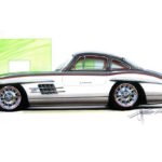 Quand Chip Foose s'occupe d'une Mercedes 300 SL !