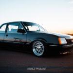 Coupé Opel Ascona… La classe en HRE !