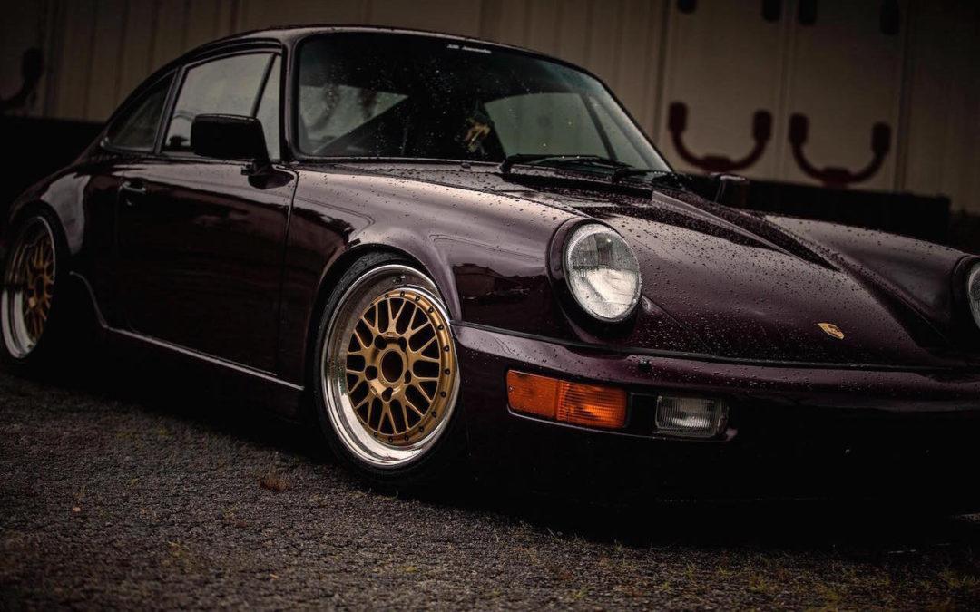 91 Porsche 964 Carrera 2    Amethys rétine destruction ! De