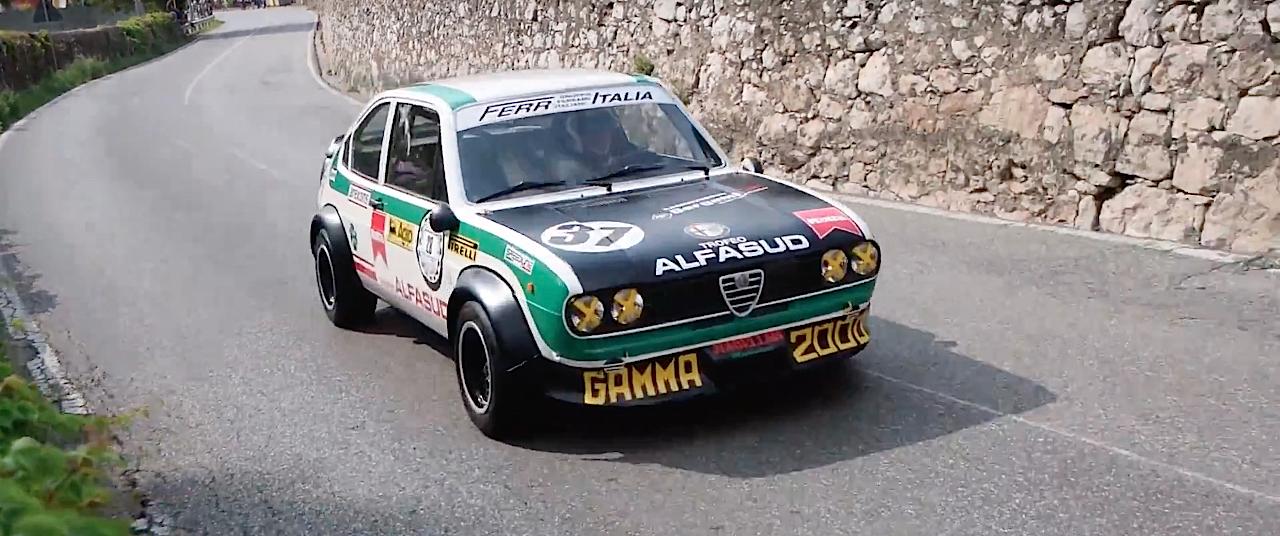 Hillclimb Monster : Alfa Romeo Alfasud Ti Trofeo - Le chant du trèfle ! 1