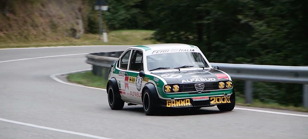 Hillclimb Monster : Alfa Romeo Alfasud Ti Trofeo - Le chant du trèfle ! 2