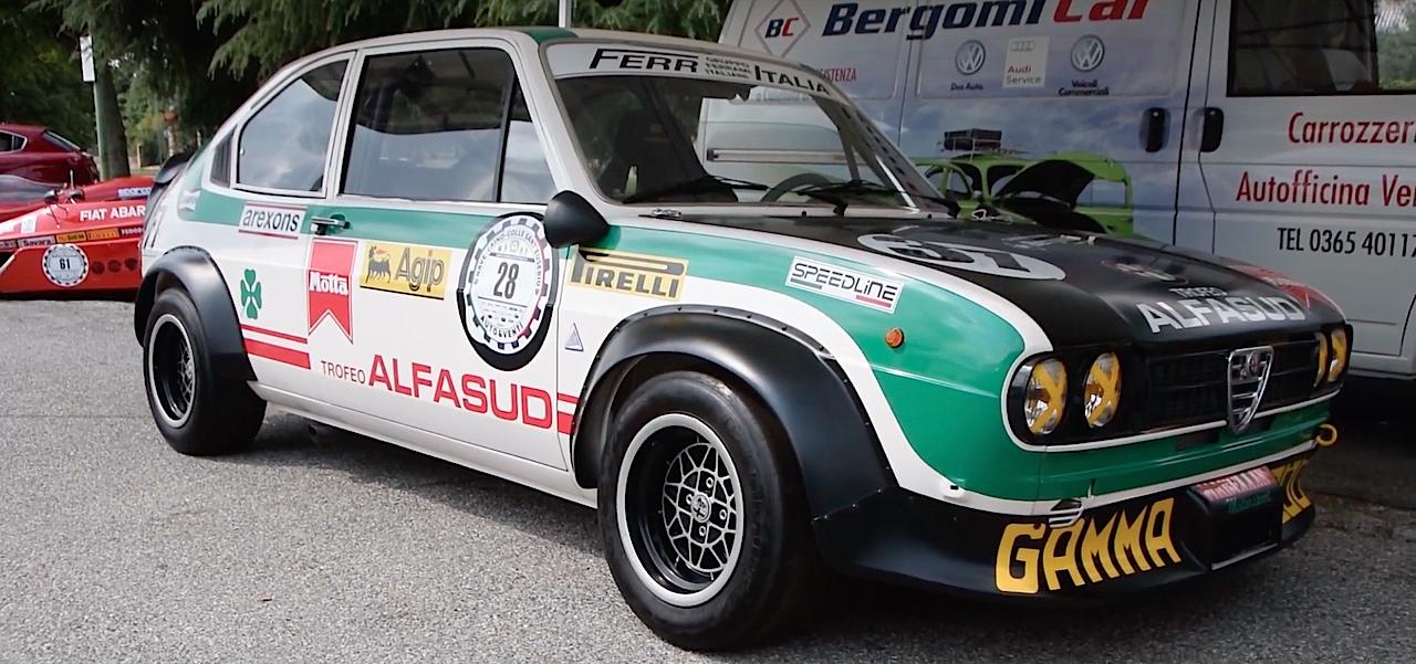 Hillclimb Monster : Alfa Romeo Alfasud Ti Trofeo - Le chant du trèfle ! 12