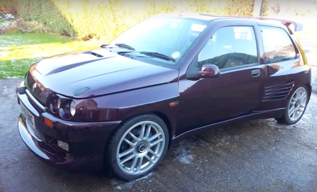 Dimma Clio Cosworth... Les Anglais sont formidables ! 17