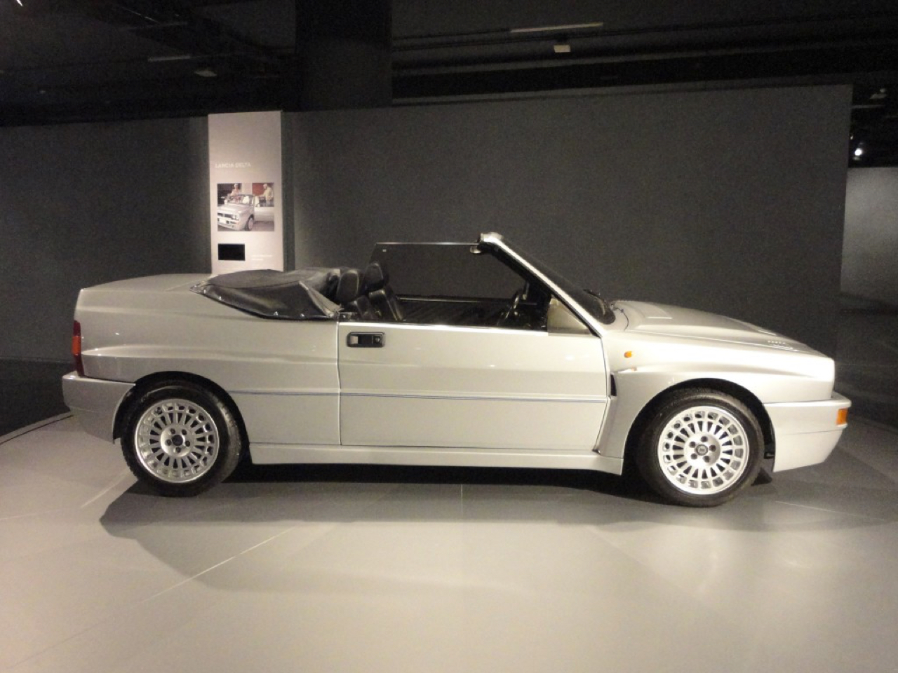 Lancia Delta HF Spider : Evoluzione cheveux au vent ! 4