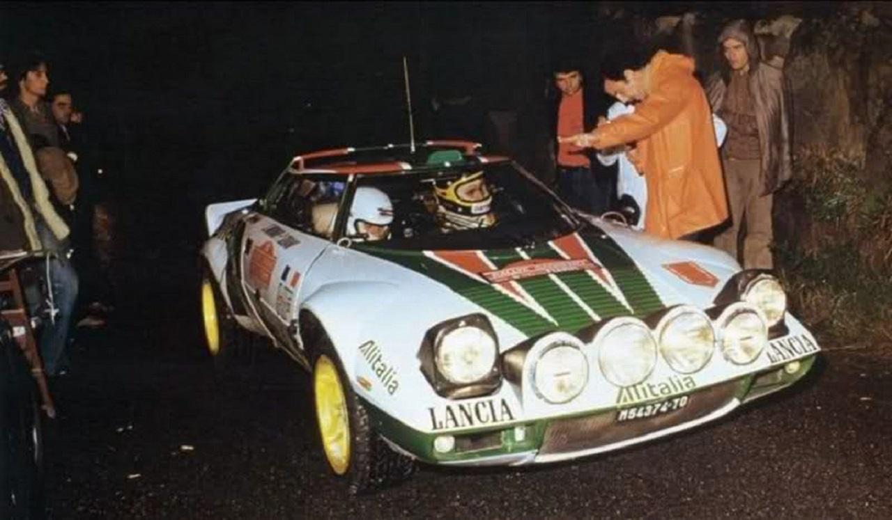 Lancia Stratos au Monte Carlo '77 - Mythique ! 1