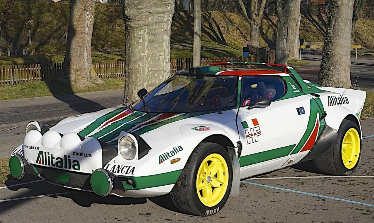 Lancia Stratos au Monte Carlo '77 - Mythique ! 2