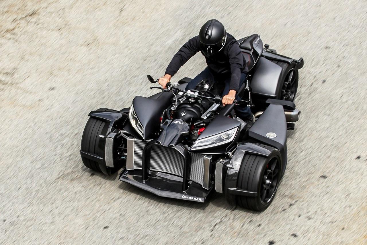 Lazareth Wazuma V8 - FrankenQuad ! 23
