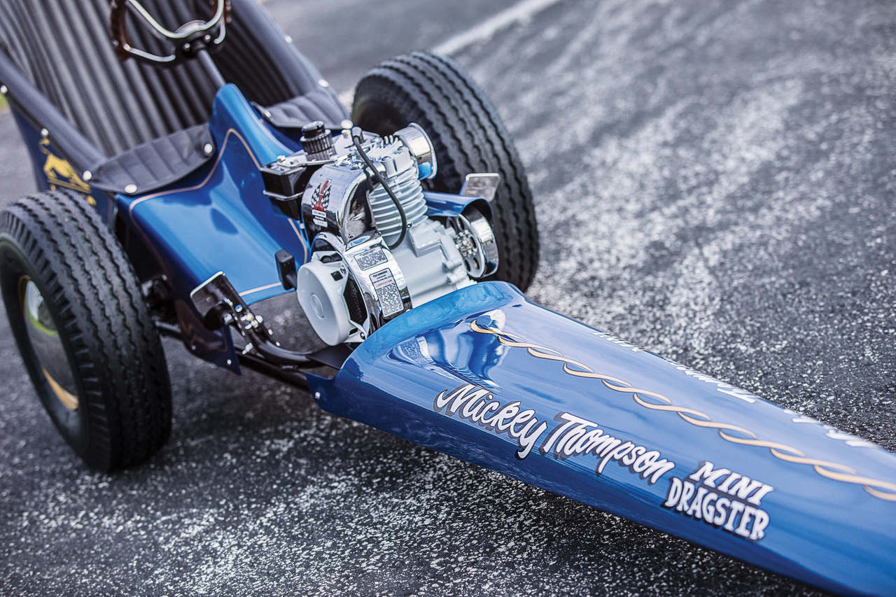 Mickey Thompson Mini Dragster - Little Wheeling 30