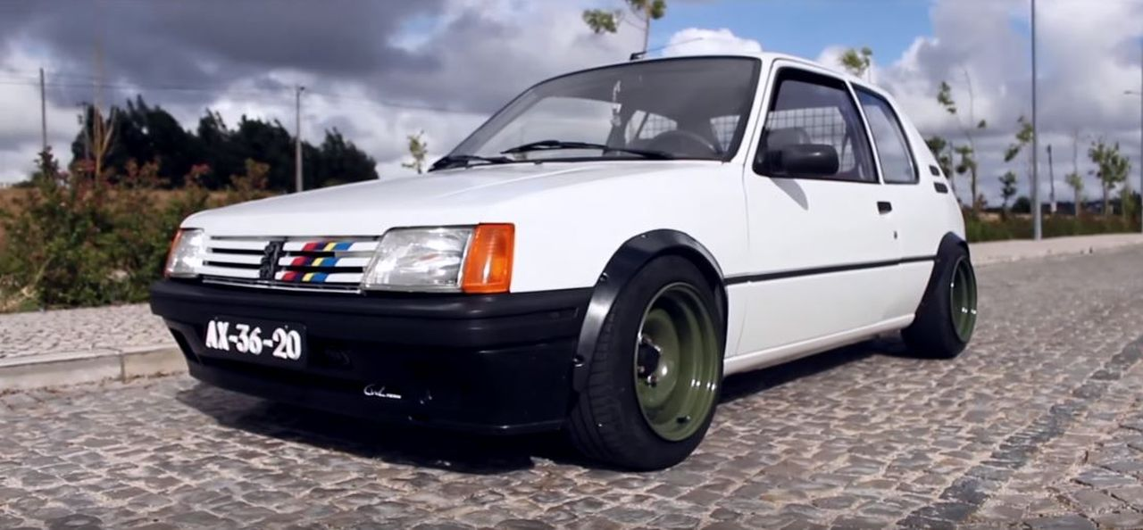 Peugeot 205 : Stance discount ! 3
