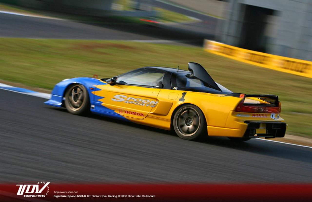 Honda NSX-R GT & S2000 ST4 - Made in Spoon ! 12