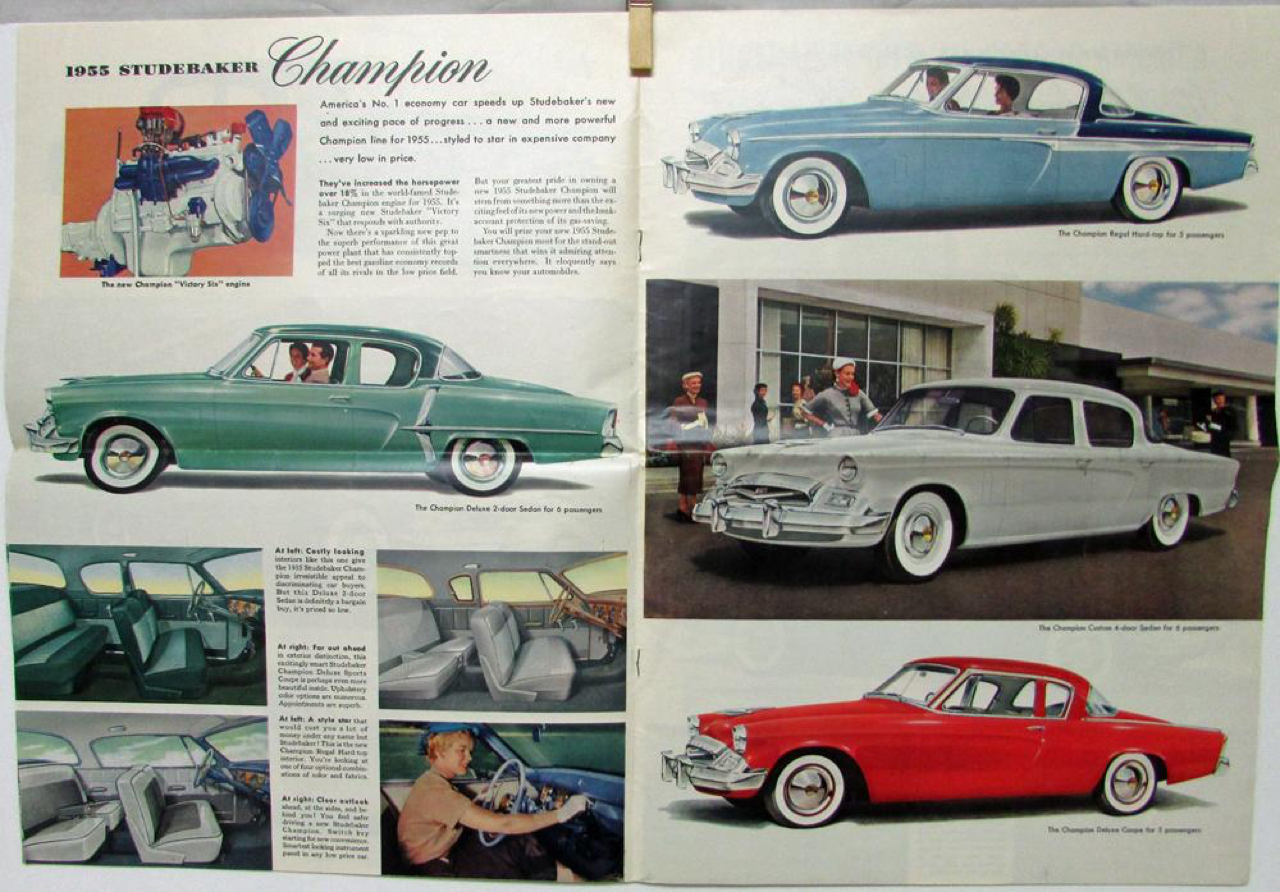 '53 Studebaker Commander V8 : Tant que c'est une Corona ! 19