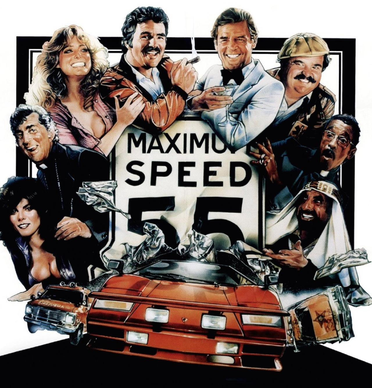 "Incontournable : L'intro de ""The Cannonball Run"" 22"