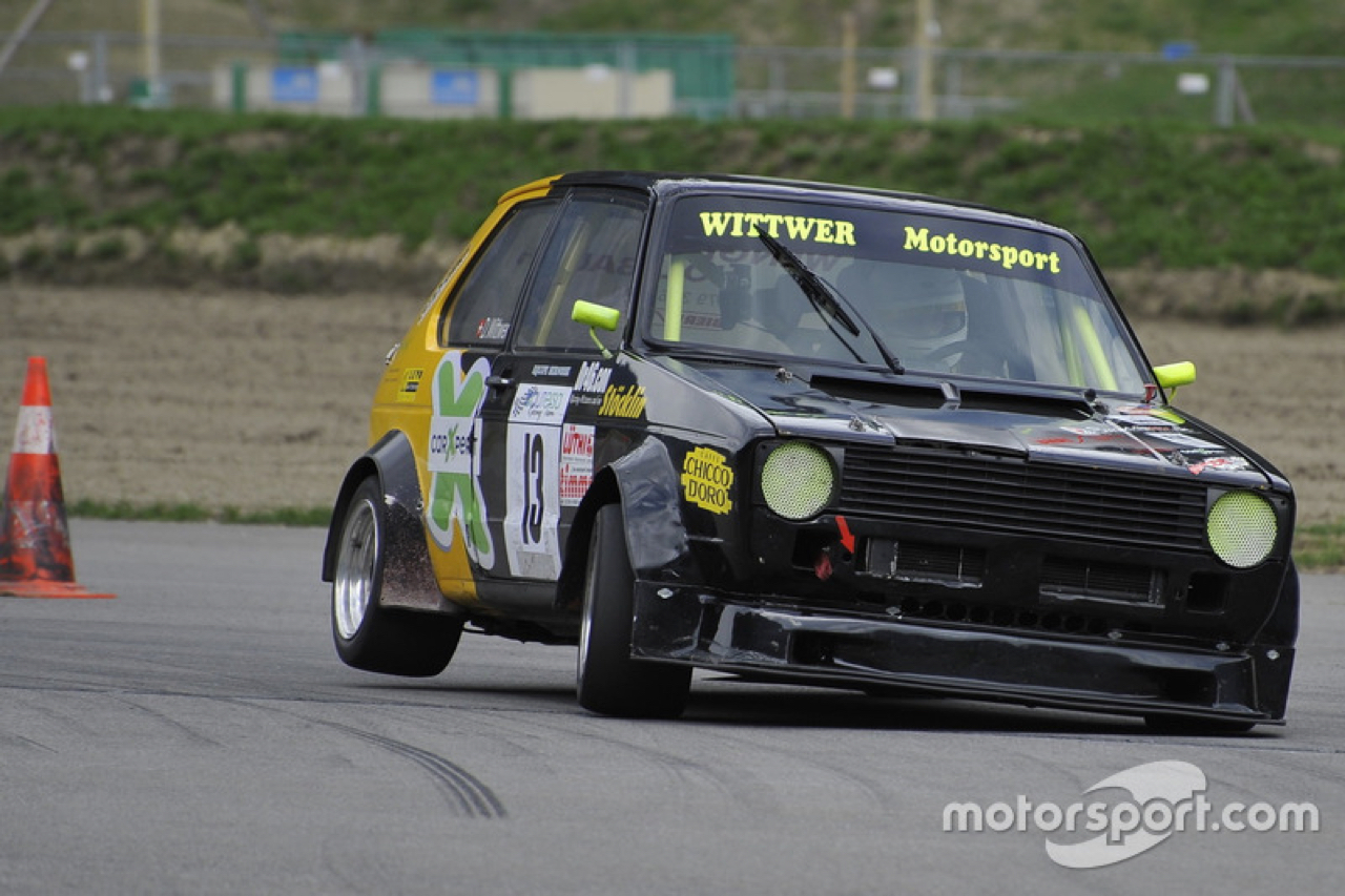 Hillclimb Monster : VW Golf 1 2.0 16v - Crazy ! 14