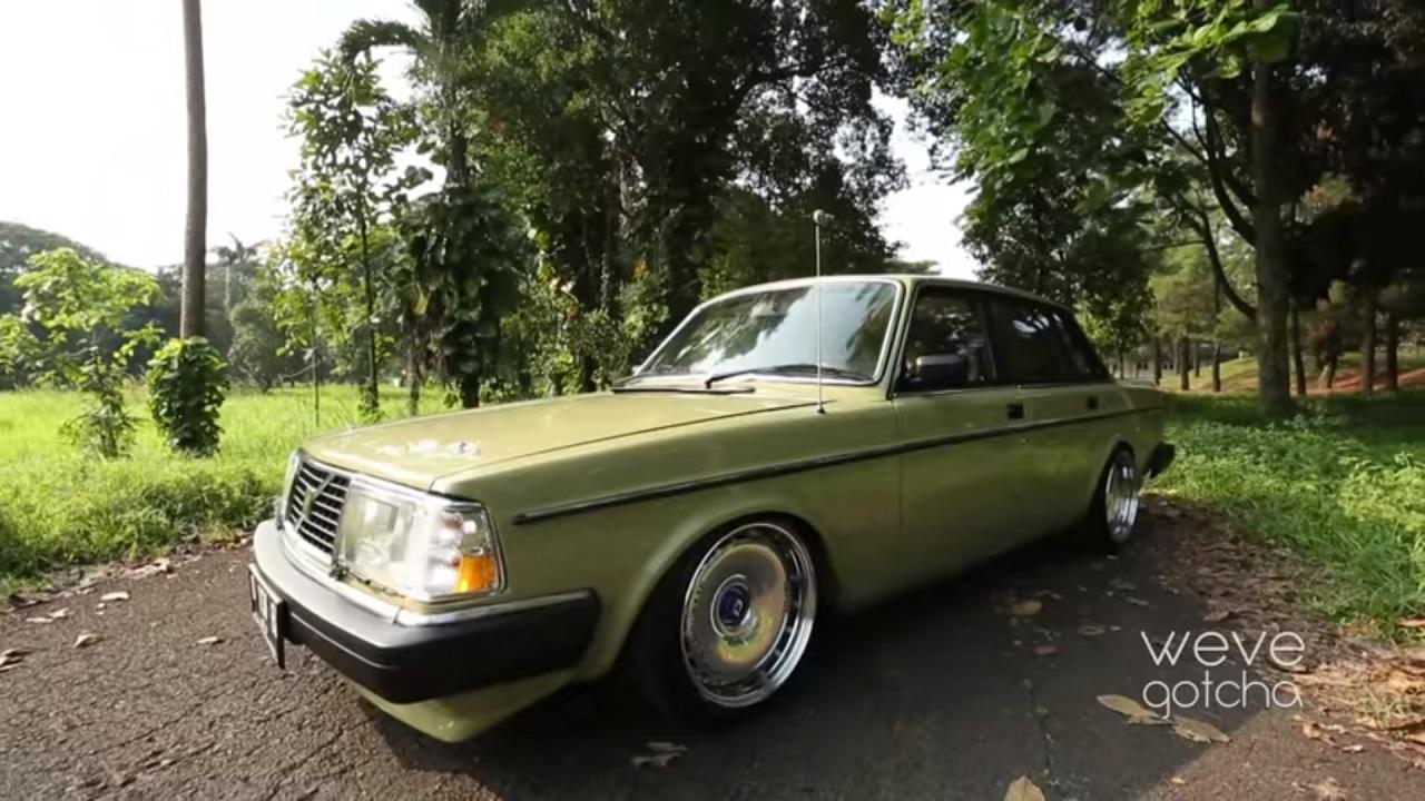 Volvo 244 GL - Suédoise d'Asie ! 16