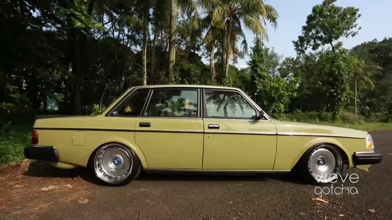 Volvo 244 GL - Suédoise d'Asie ! 13