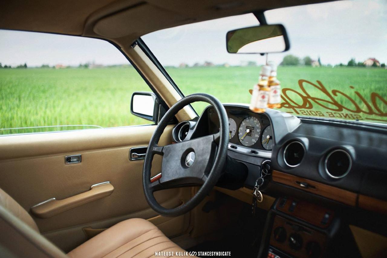Mercedes C123 280 CE - Renaissance pneumatique ! 56