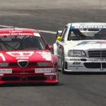 DTM Mercedes Classe C versus Alfa 155 V6 Ti – Duel au sommet !