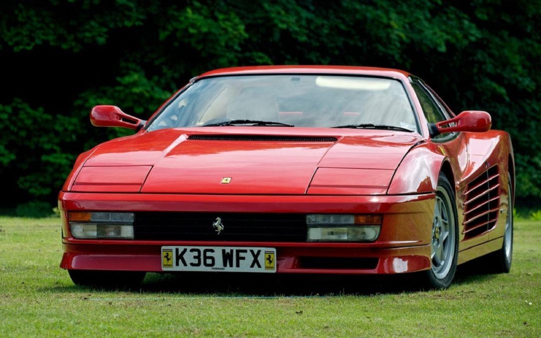 Ferrari 512 TR – La tête rouge !