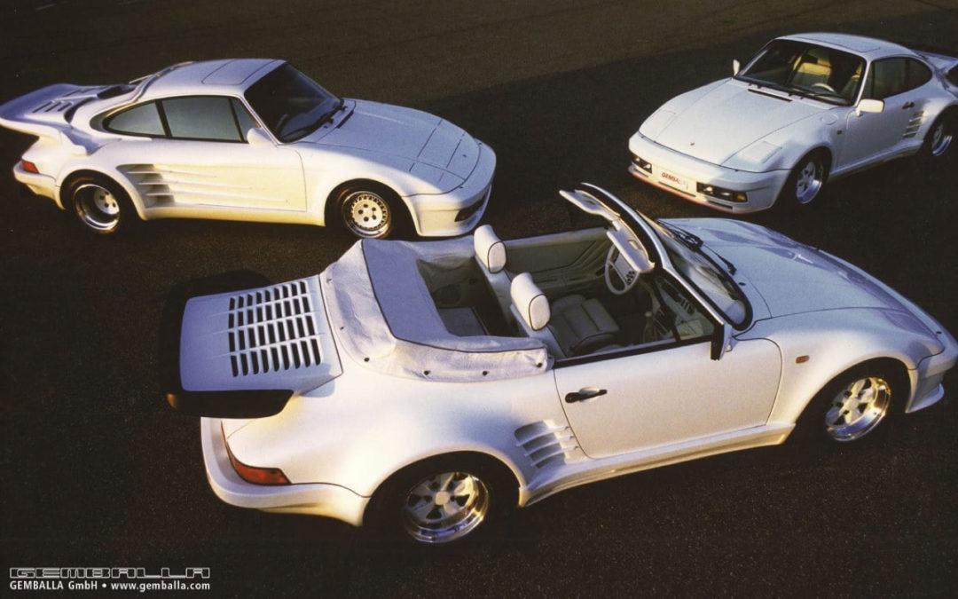 '86 Gemballa Avalanche : Une vraie Porscherie !