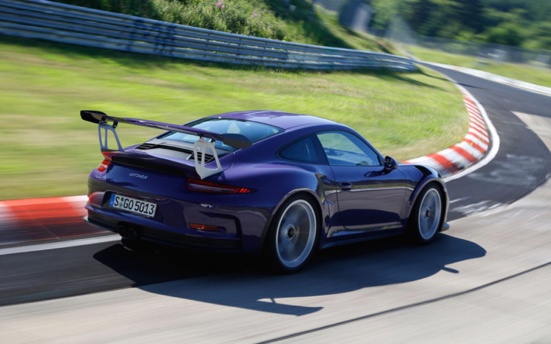 D'la Porsche sur le Nürb…