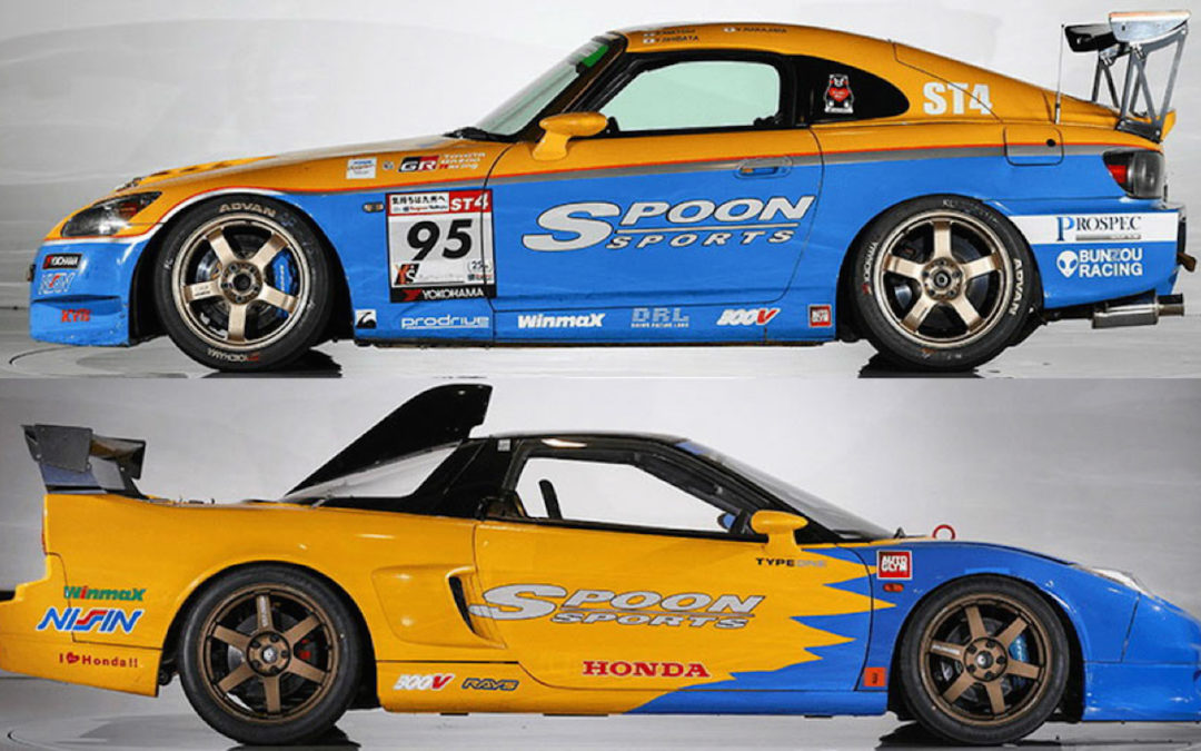 Honda NSX-R GT & S2000 ST4 – Made in Spoon !