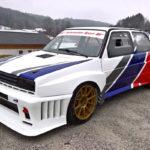 Hillclimb Monster : Une Golf II en Hayabusa turbo 4wd... C'est tout ?!
